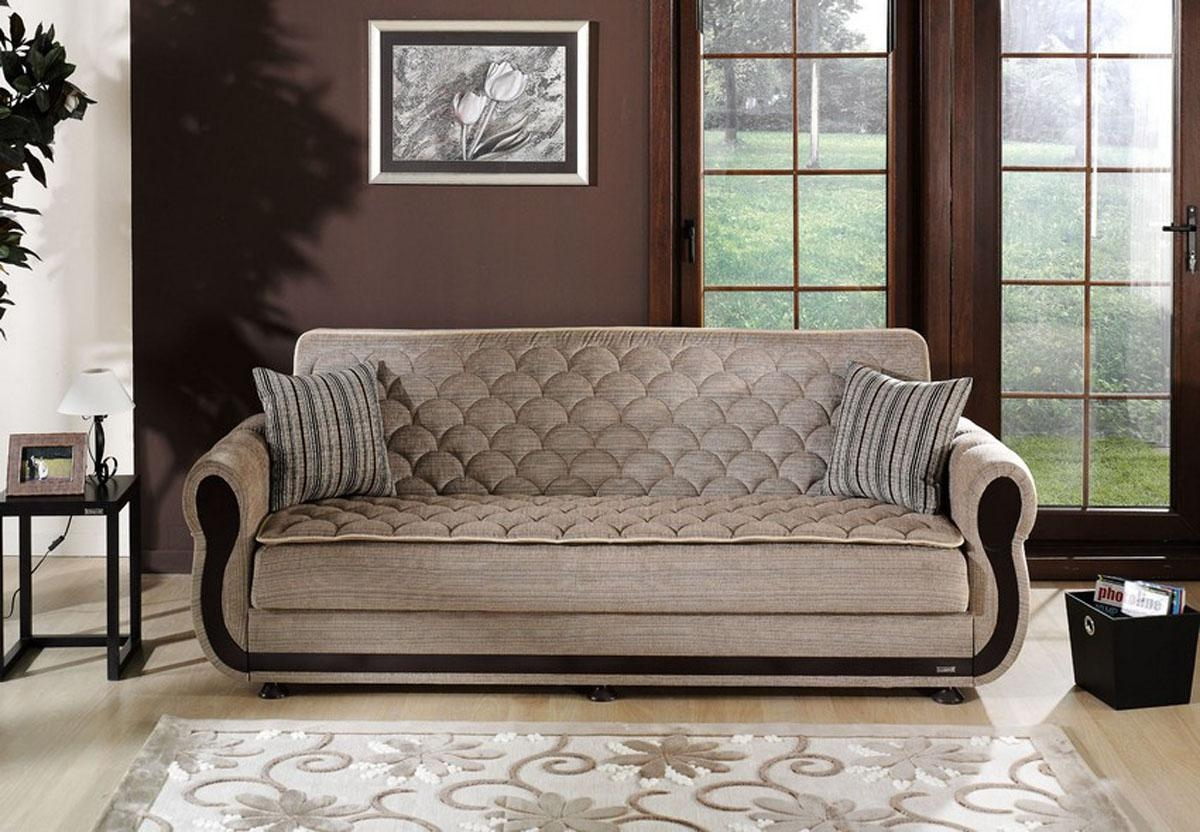 Enjoyable Argos Zilkade Light Brown Convertible Sofa Bed Most For Most Comfortable Sofabed (View 10 of 22)