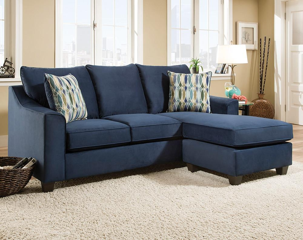 Epic Blue Sectional Sofa With Chaise 83 For Simmons Sleeper Sofa Intended For Simmons Chaise Sofa (View 7 of 20)