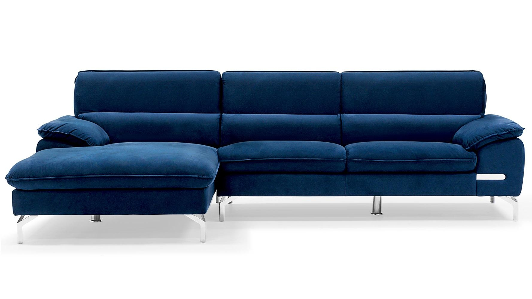 Epic Blue Sectional Sofa With Chaise 83 For Simmons Sleeper Sofa With Regard To Simmons Chaise Sofa (View 18 of 20)