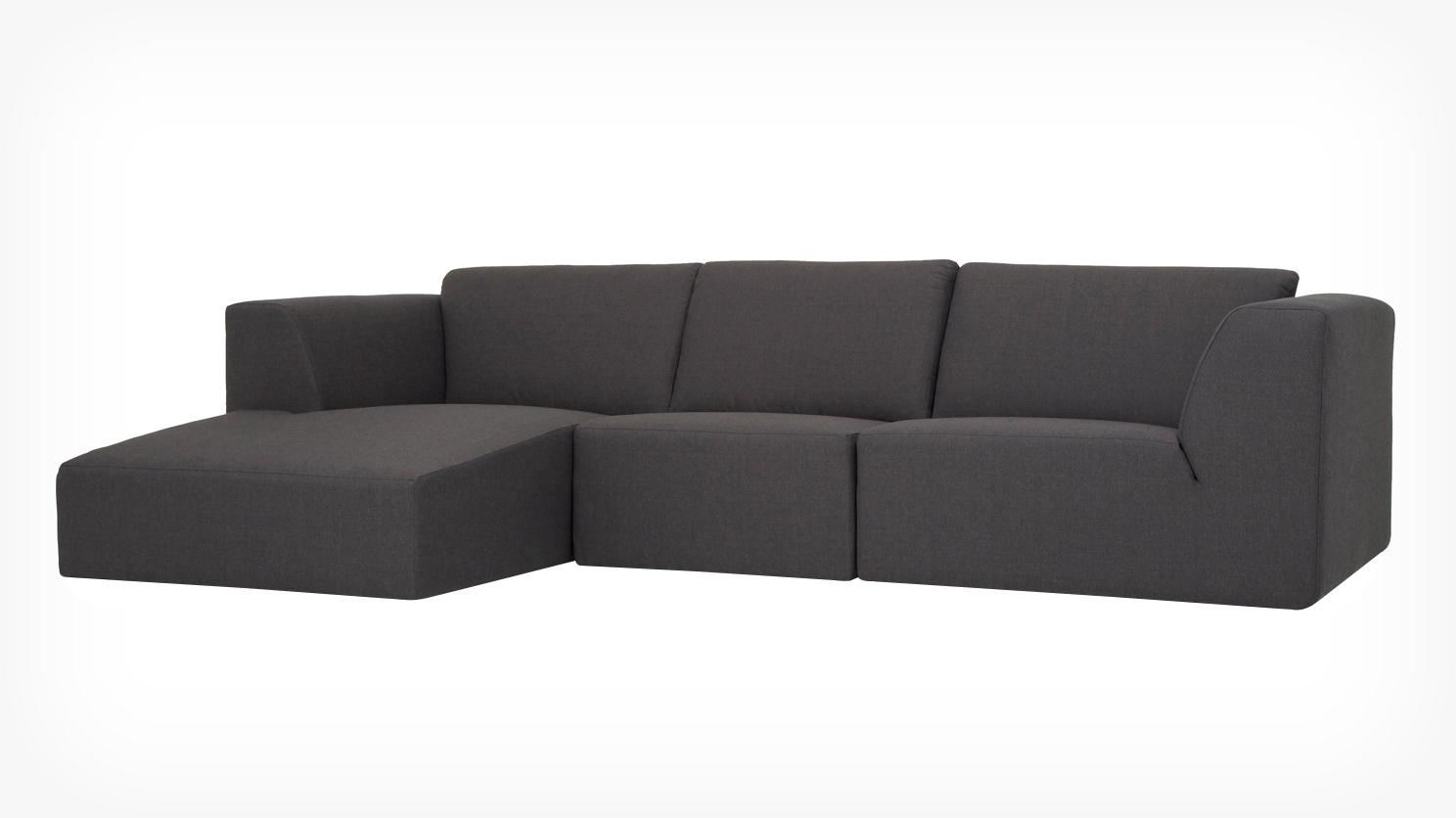 Eq3 | Living > Seating > Sectionals In 2 Seat Sectional Sofas (Image 5 of 15)