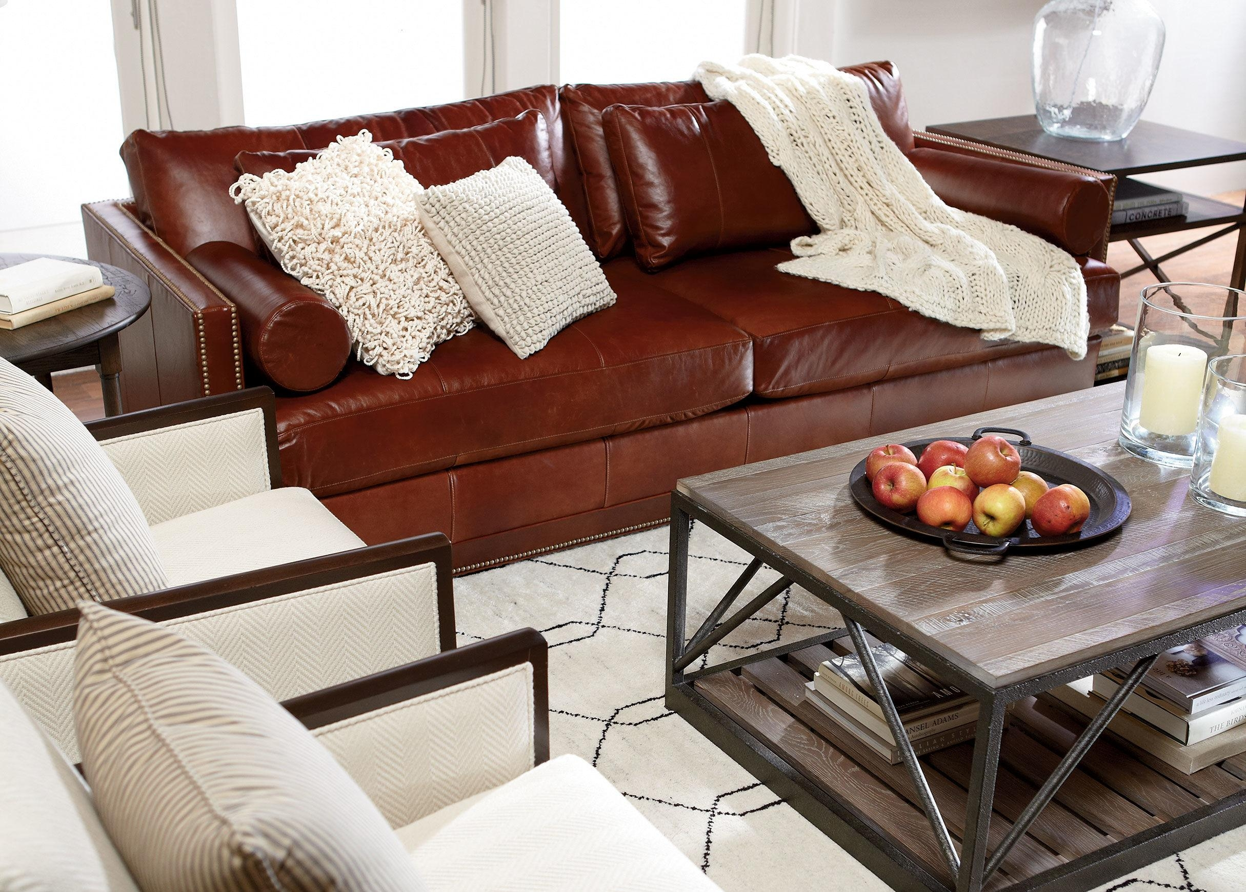Ethan Allen Leather Furniture For Charming And Comfortable Home Inside Allen White Sofas (View 9 of 20)