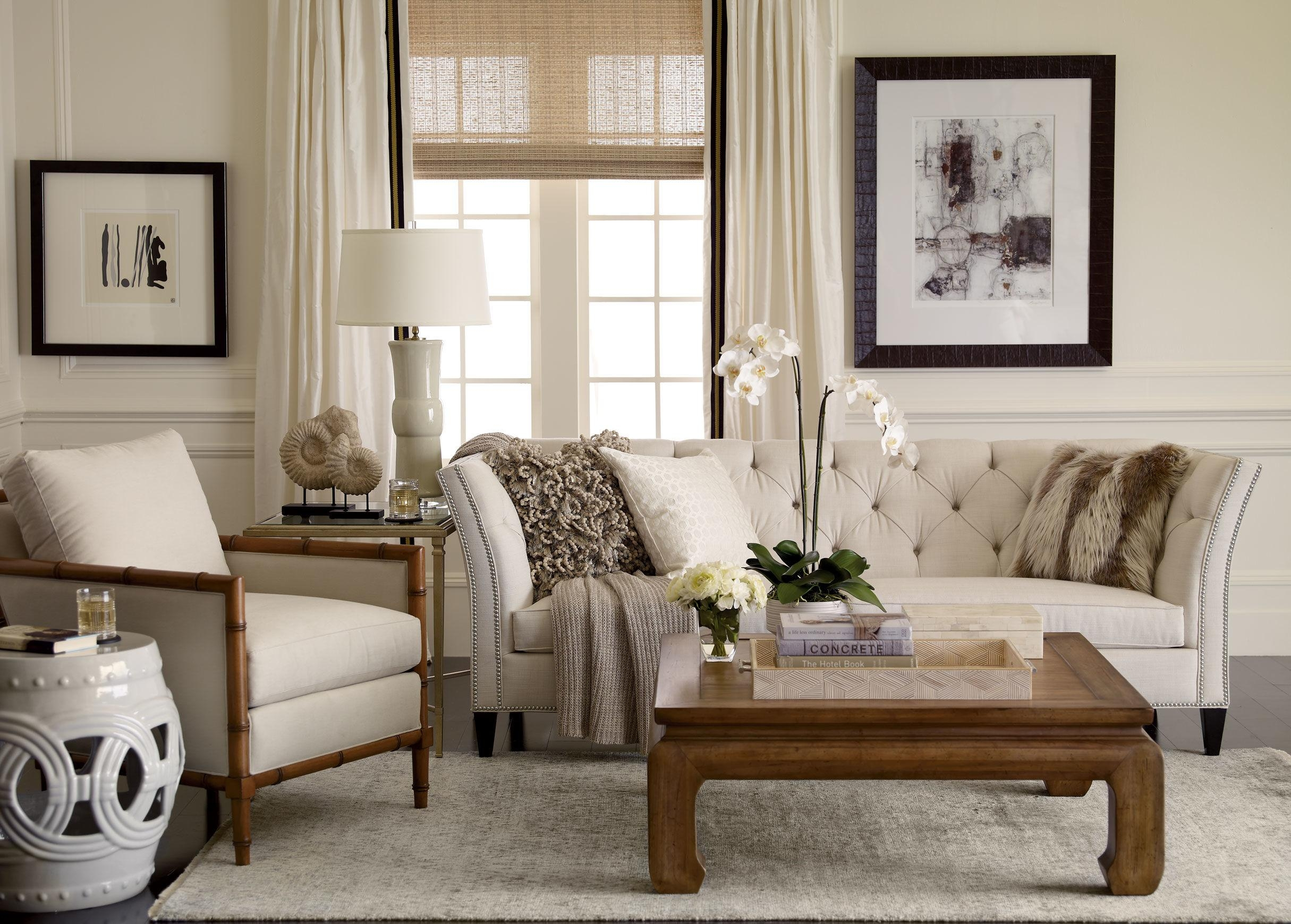 Ethan Allen Leather Furniture For Charming And Comfortable Home Throughout Allen White Sofas (View 11 of 20)