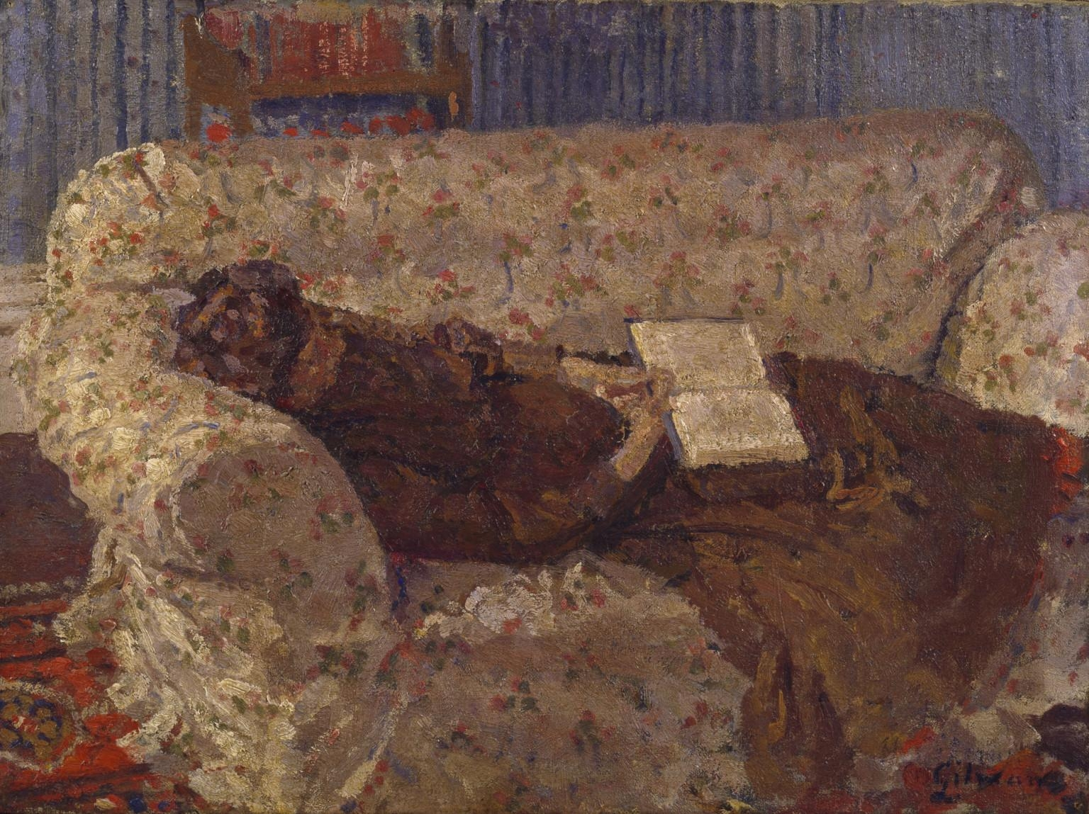 Ethel Sands, 'the Chintz Couch' C (View 13 of 13)