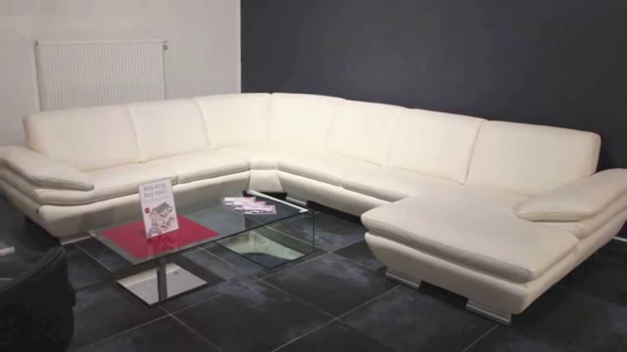 Euro Sofa, Moderné Kožené Sedačky – Youtube Inside Euro Sofas (View 3 of 20)