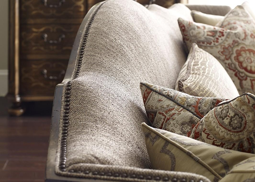 European Inspired Traditional Fabric Sofa Canella Finish With Pertaining To Traditional Fabric Sofas (Photo 17 of 20)