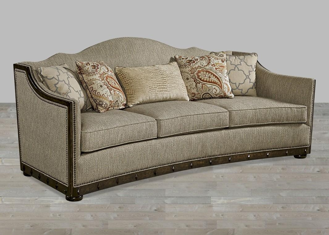 European Inspired Traditional Fabric Sofa Canella Finish With Throughout Traditional Fabric Sofas (View 5 of 20)