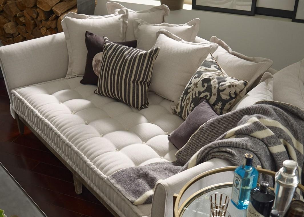 Extra Deep One Cushion Sofa In Tan For One Cushion Sofas (View 18 of 20)