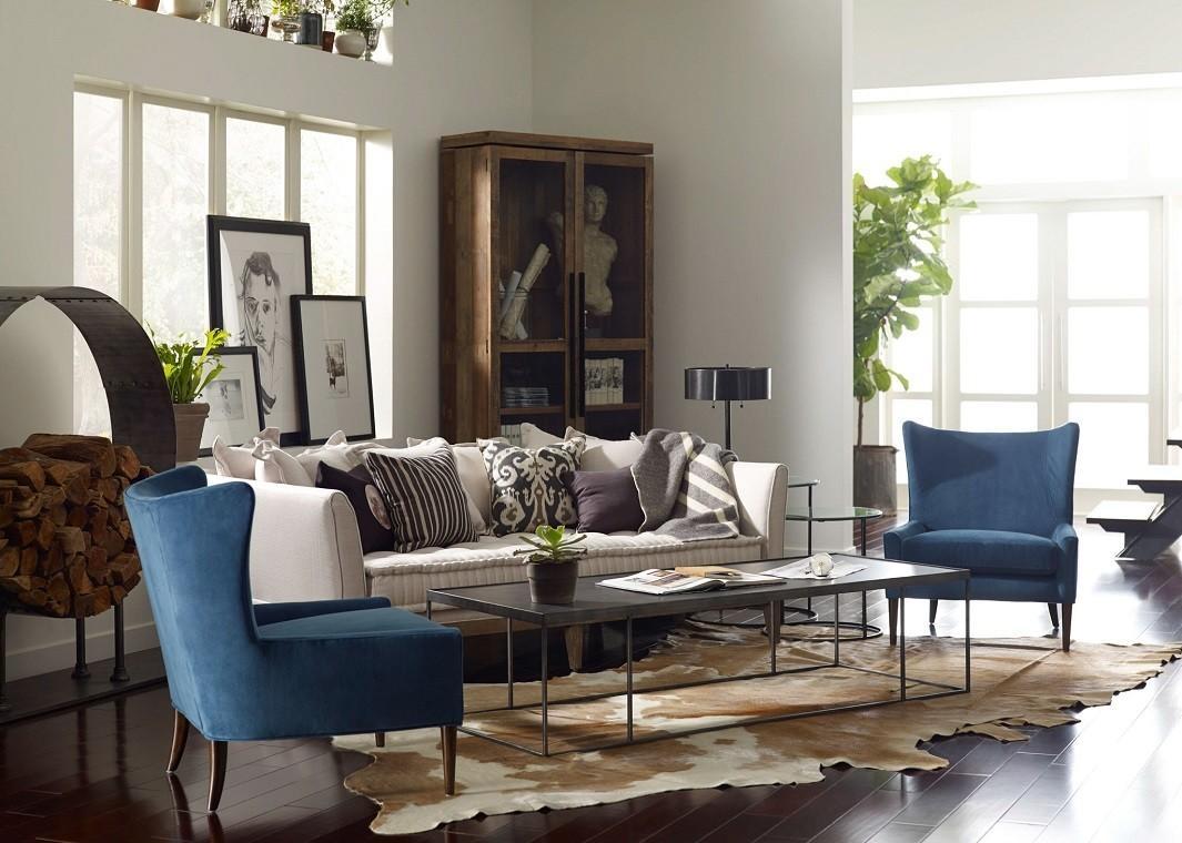 Extra Deep One Cushion Sofa In Tan Pertaining To Deep Cushion Sofa (Image 9 of 20)