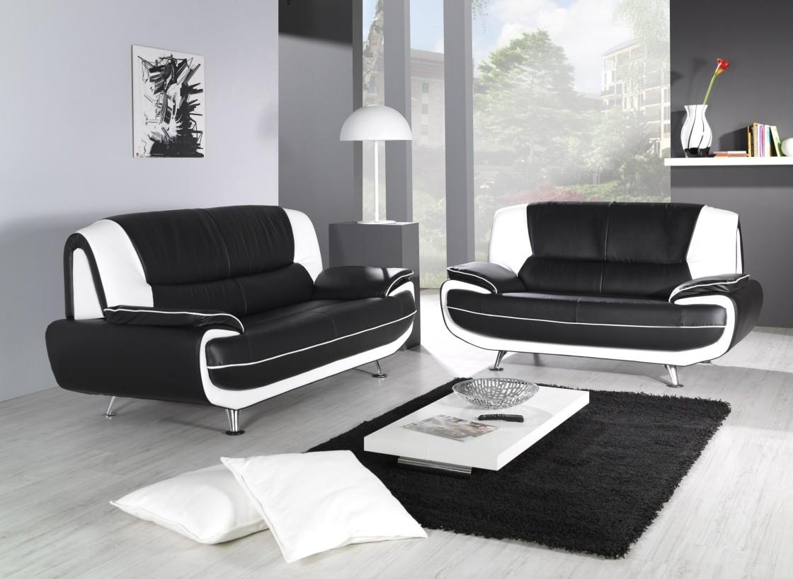 Extra Deep Sofa ' Helpformycredit | Best Sofa Decoration Intended For Black And White Sofas (View 15 of 20)