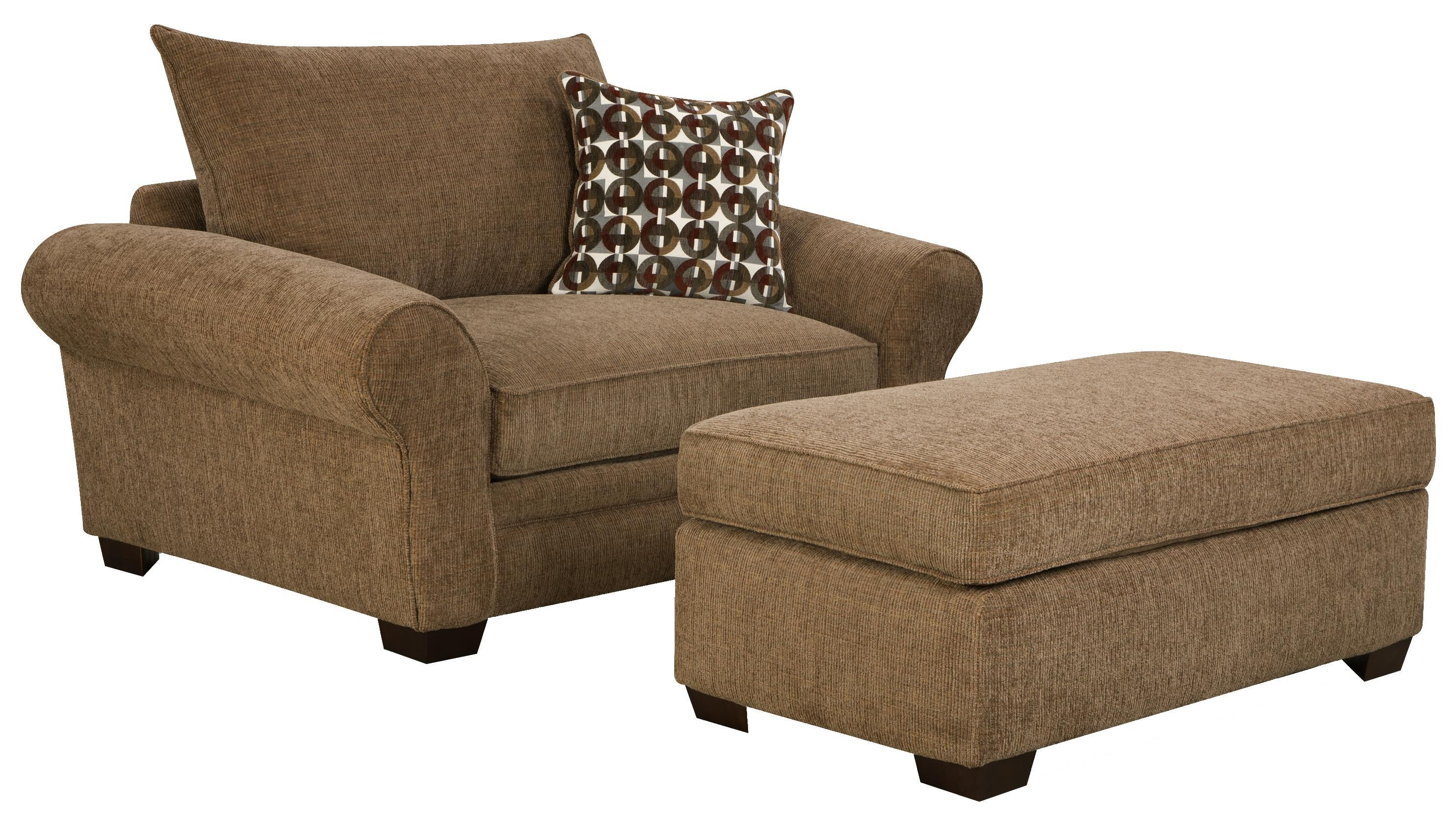 Extra Large Chair And A Half For Casual Styled Living Room Comfort In Casual Sofas And Chairs (Image 13 of 21)