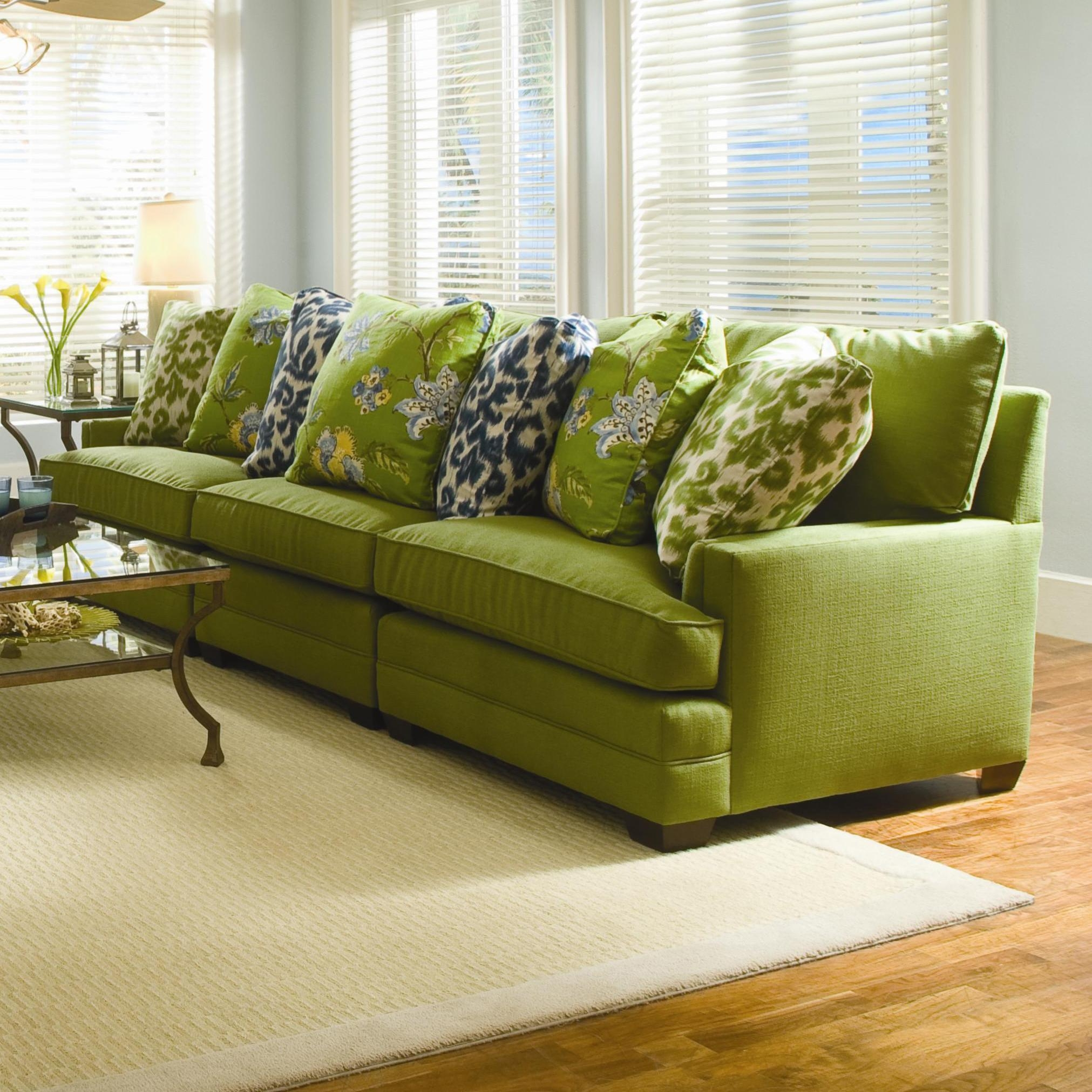Extra Wide Sectional Sofasam Moore | Wolf And Gardiner Wolf Intended For Wide Seat Sectional Sofas (Image 8 of 20)
