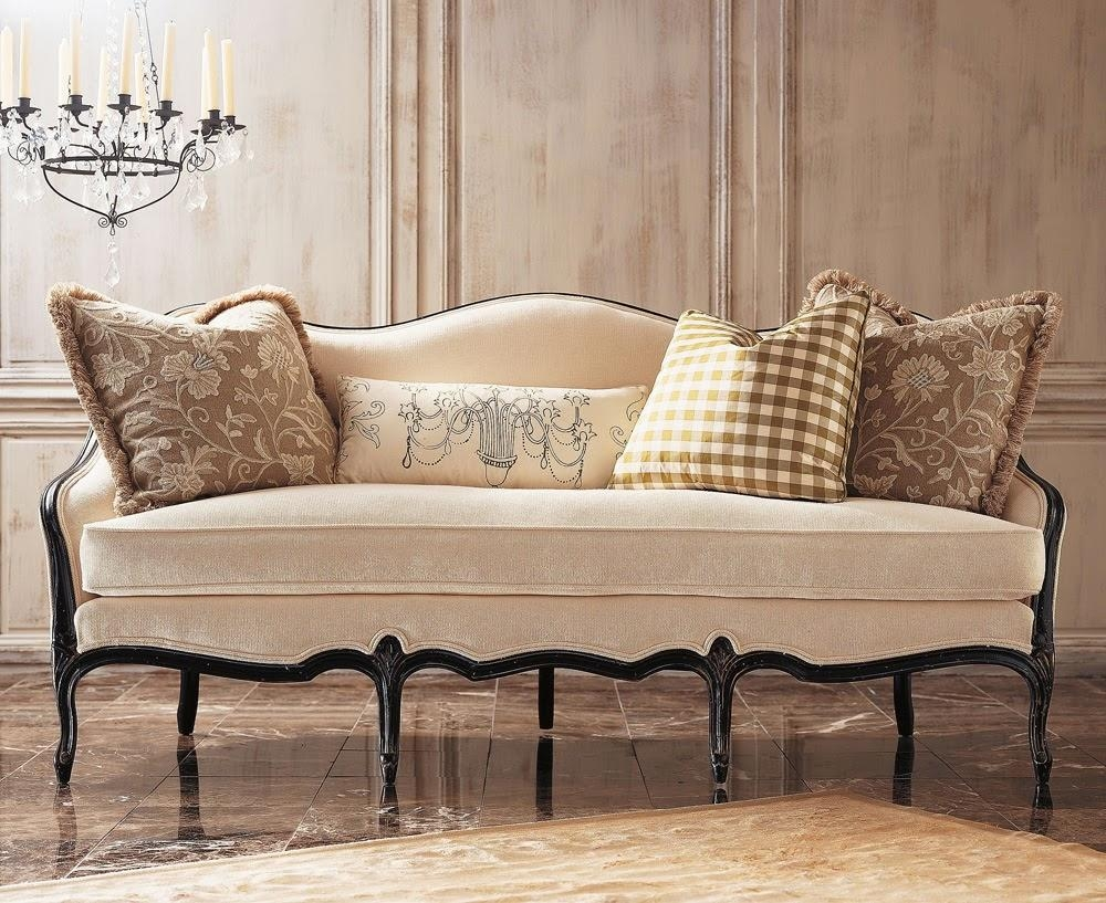 20 Collection Of Chippendale Camelback Sofas Sofa Ideas