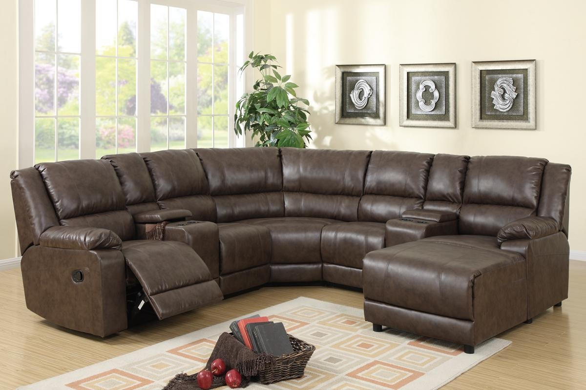F6701 2 Reclining Sectional Throughout U Shaped Reclining Sectional (Image 3 of 20)