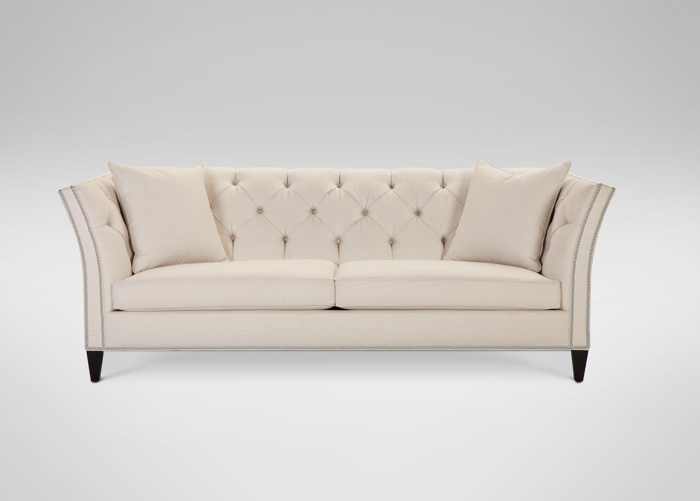 Fabric Chesterfield Sofas | Tehranmix Decoration Throughout Ethan Allen Chesterfield Sofas (View 13 of 20)