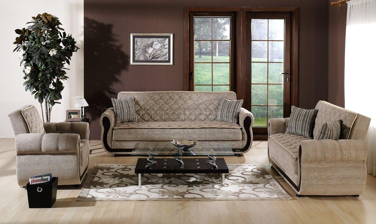 Fabric Living Room Sets. Microfiber, Microsuede Sofa Sets (Image 2 of 20)