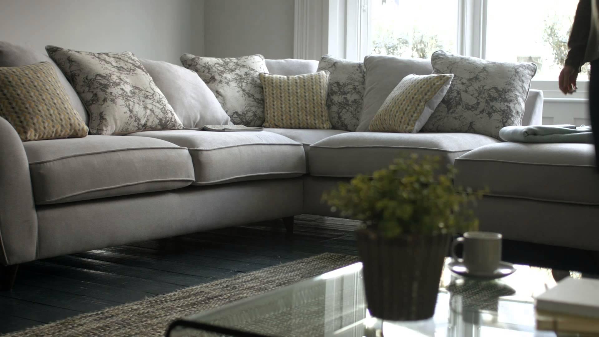 Fabric Modular Sofas & Corner Sofas – Carrara | Furniture Village Within Corner Sofa Chairs (View 8 of 20)