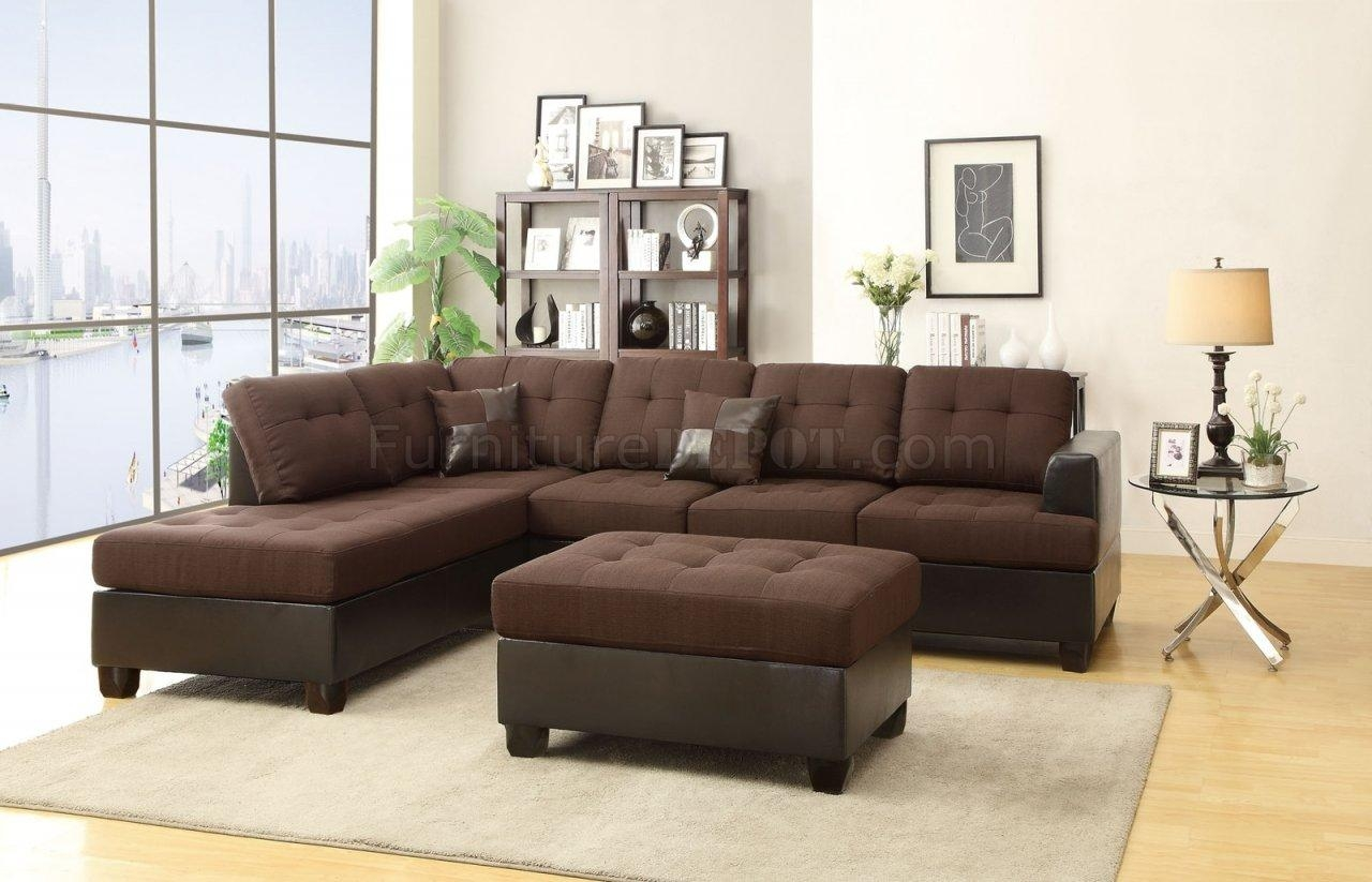 Fabric Sectionals – Microfiber Sectional Sofas, Microsuede Within Microfiber Sectional Sofas (Image 7 of 20)