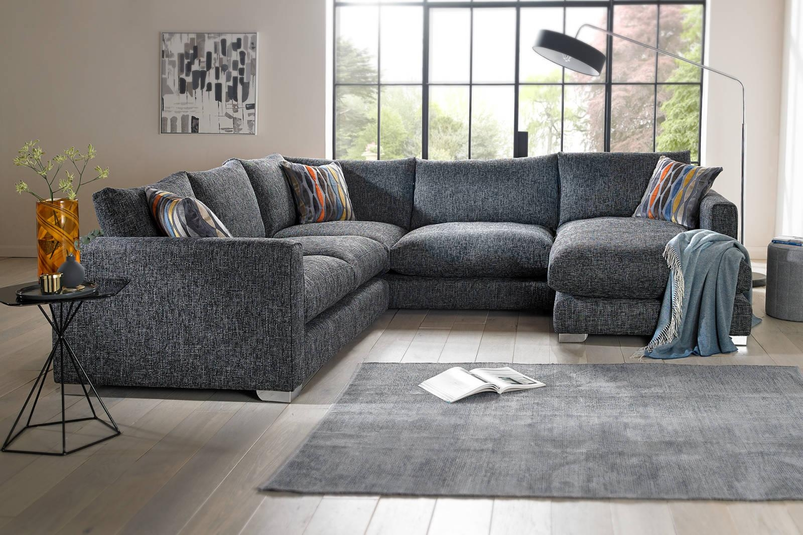 Fabric Sofas, Corners And Chairs | Sofology Throughout Fabric Sofas (Image 15 of 20)