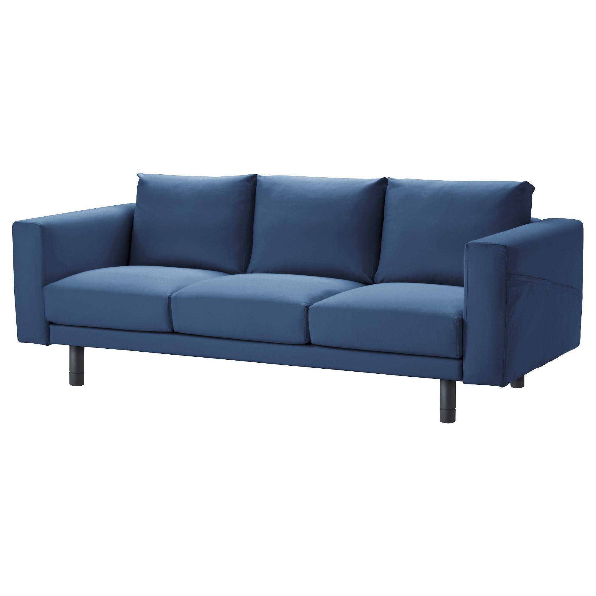 Fabric Sofas – Ikea Inside Blue And White Striped Sofas (Image 13 of 20)