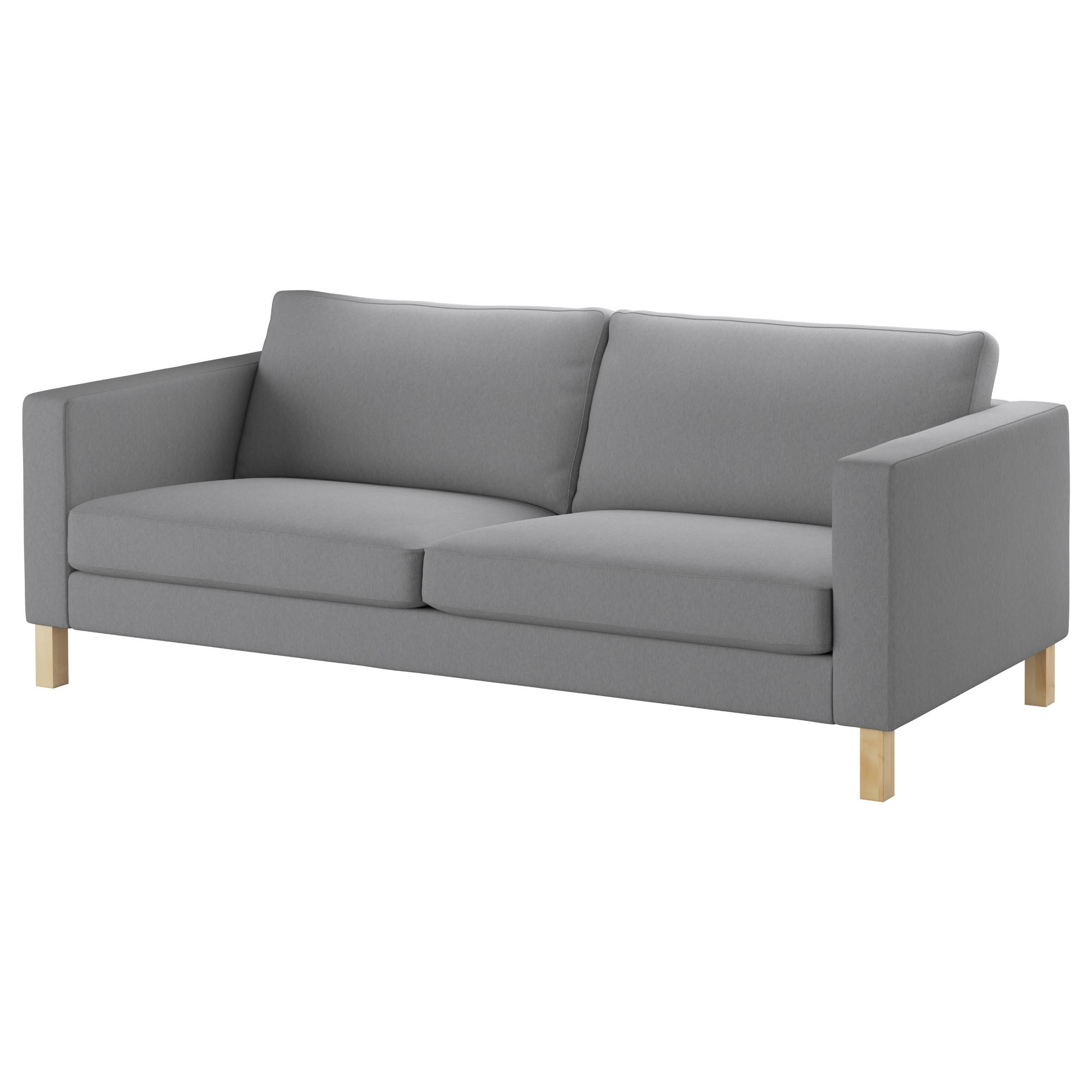 Fabric Sofas – Modern & Contemporary – Ikea Regarding Narrow Depth Sofas (Image 6 of 20)