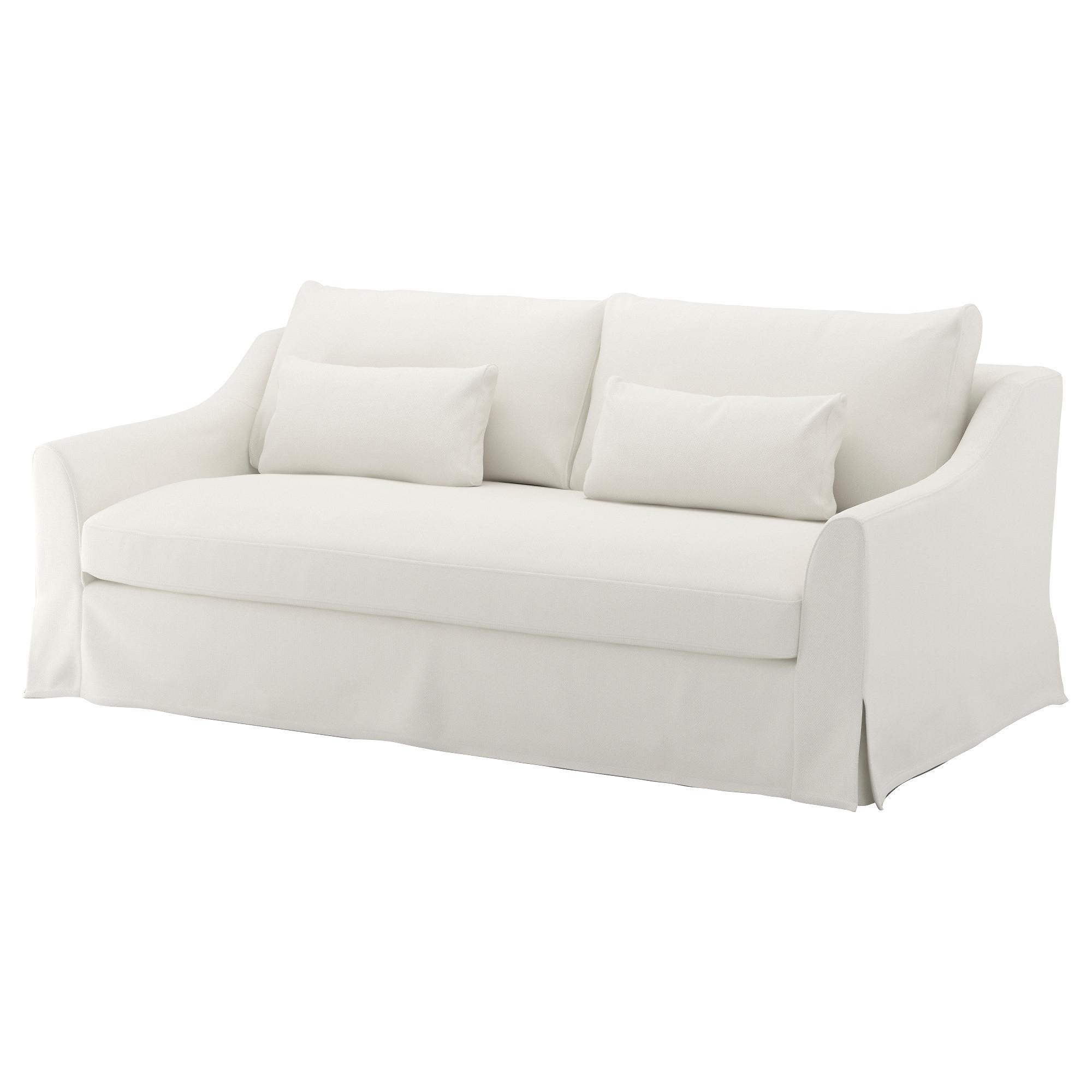Fabric Sofas – Modern & Contemporary – Ikea Regarding White Sofa Chairs (Image 4 of 20)