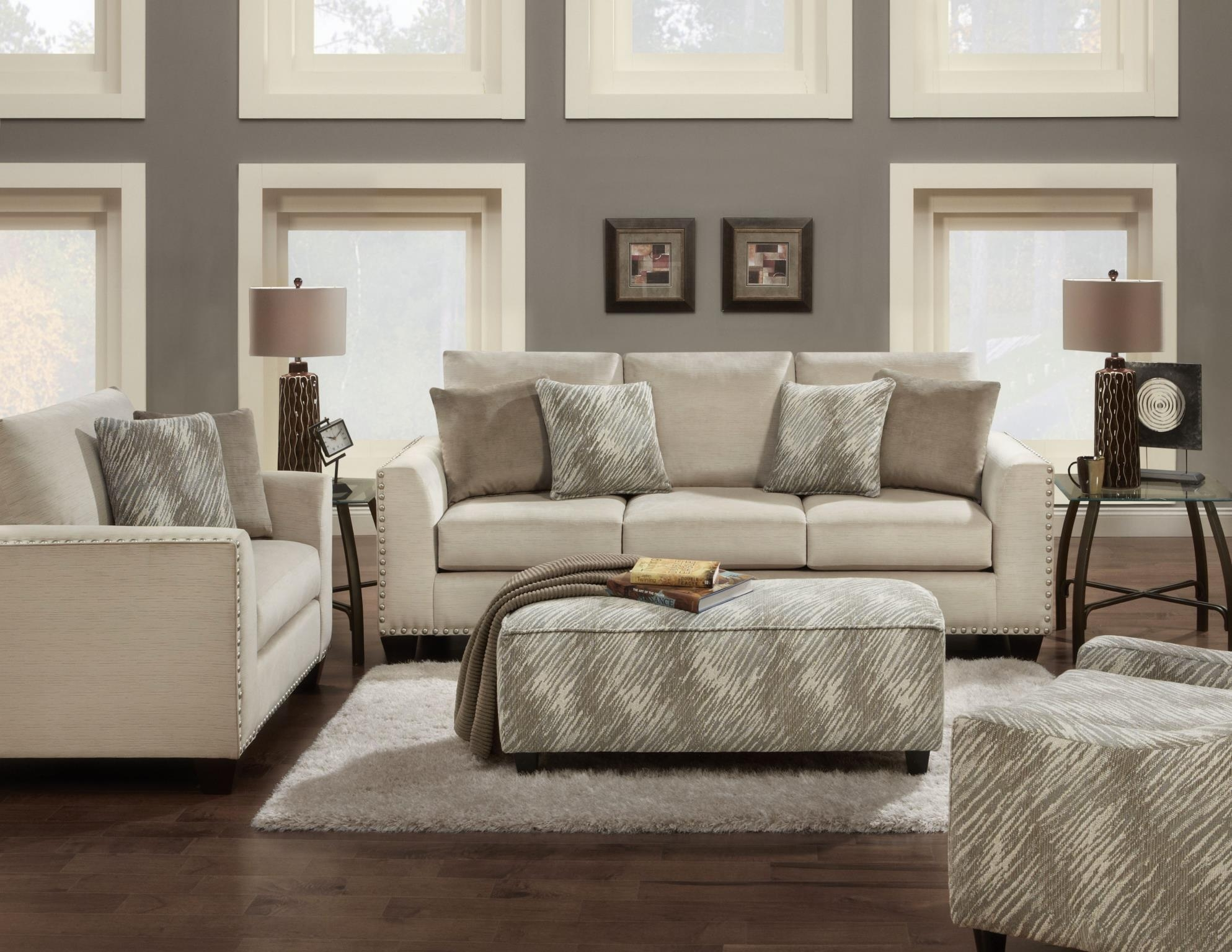 Fabric Sofas With Casual Sofas And Chairs (Image 15 of 21)