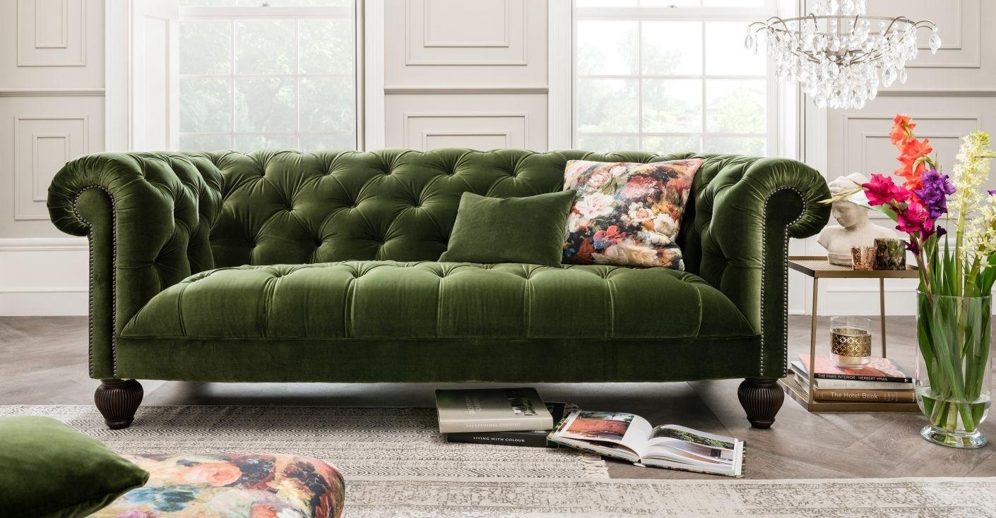 Fabric Sofas With Fabric Sofas (Image 14 of 20)