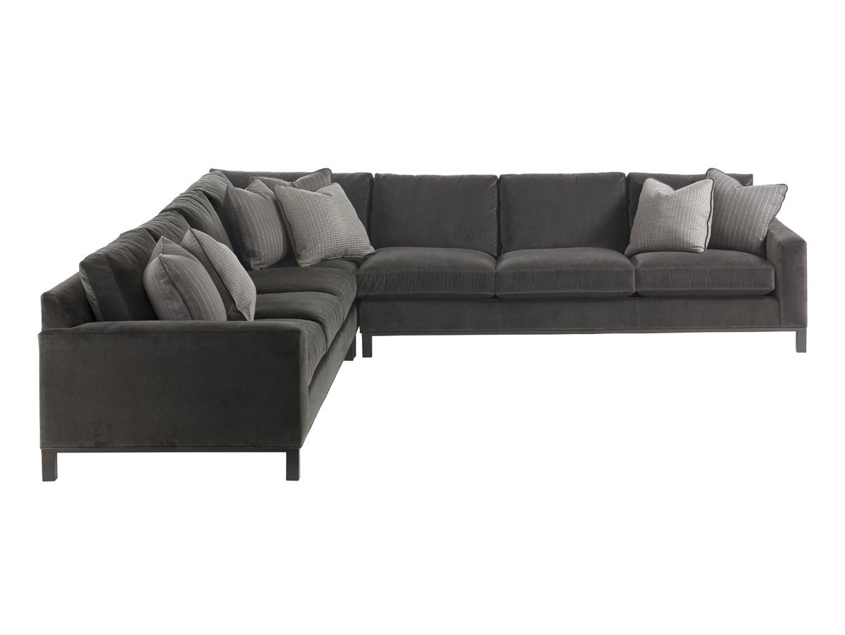Fabric Upholstery – Sectional | Lexington Home Brands In Sectional Sofa With Cuddler Chaise (Image 7 of 20)