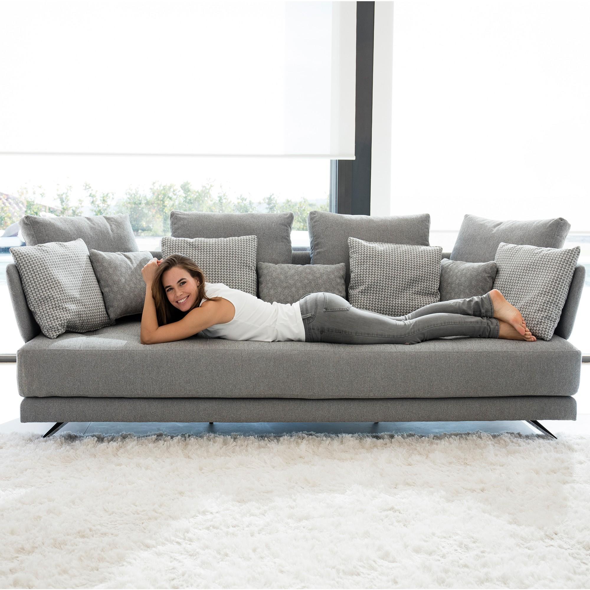 Fama Pacific 4 Seater Sofa – Fabric Sofas – Cookes Furniture Regarding Large 4 Seater Sofas (Image 4 of 20)