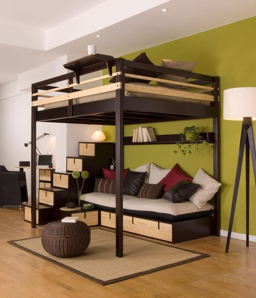 Fancy Bunk Beds With Sofa Underneath 88 For Your Cheap Double Sofa In Bunk Bed With Sofas Underneath (Image 14 of 20)