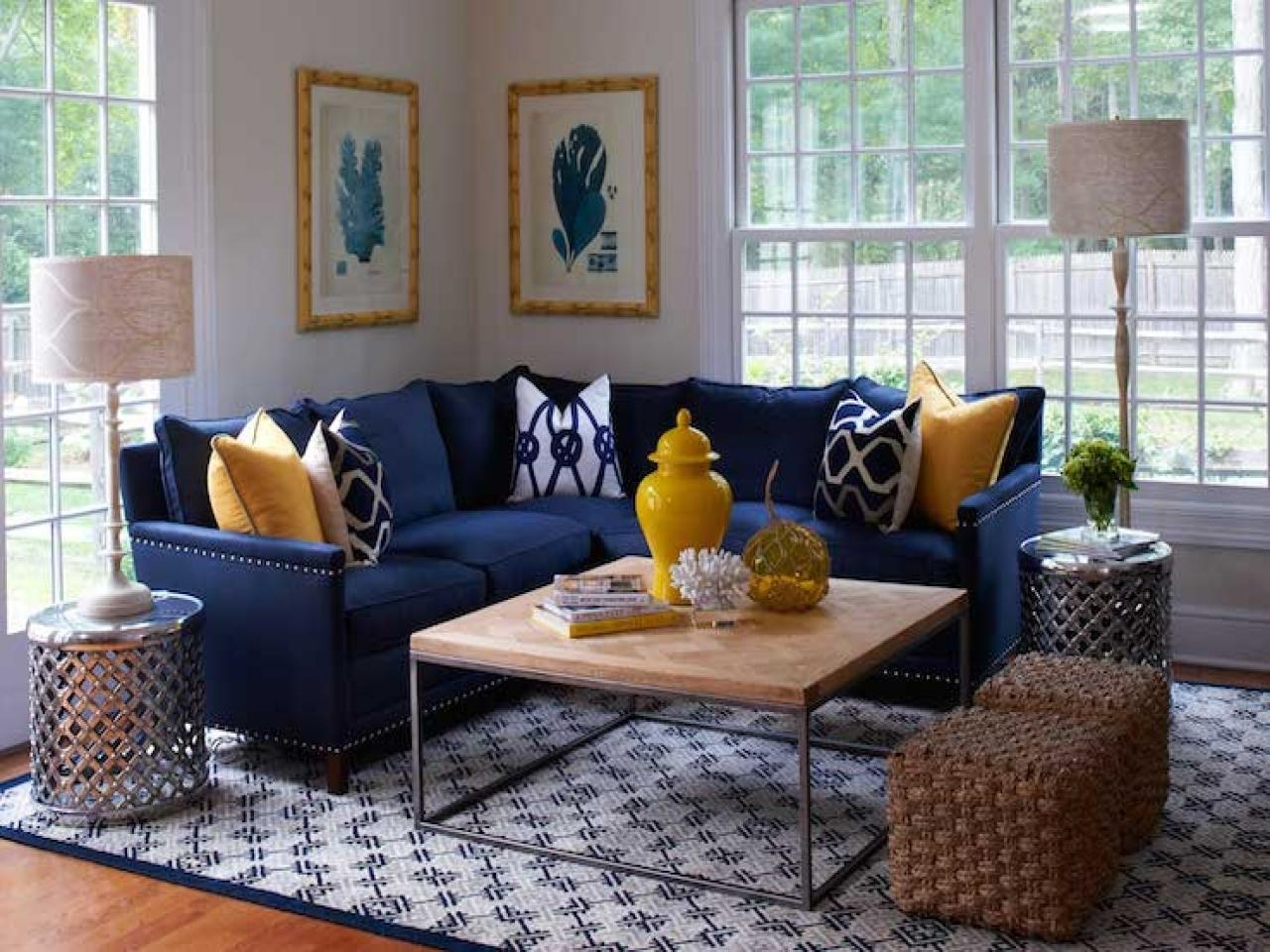 Fancy Dark Blue Sofa 46 In Sofa Table Ideas With Dark Blue Sofa Intended For Dark Blue Sofas (Image 9 of 20)