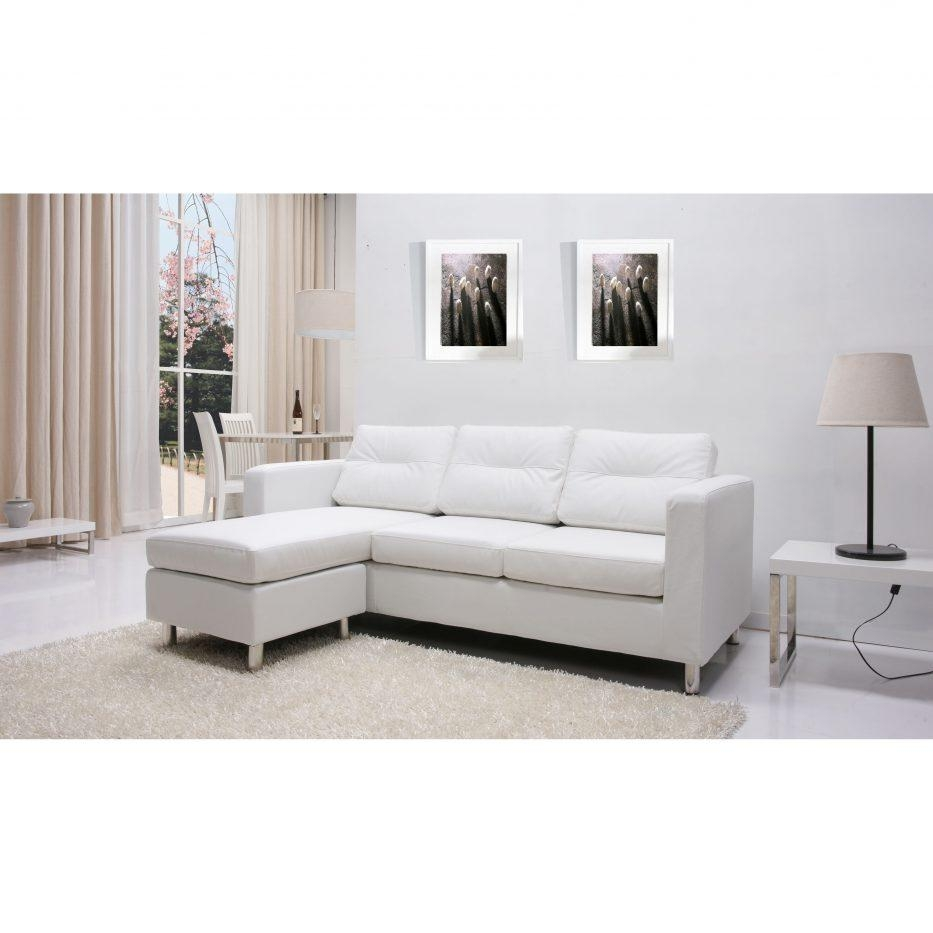 Faux Leather Sectional Sofa Ashley | Sofa Gallery | Kengire Inside Ashley Faux Leather Sectional Sofas (Image 7 of 20)