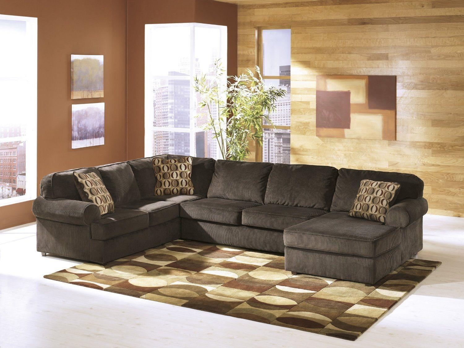 Faux Leather Sectional Sofa Ashley | Sofa Gallery | Kengire Intended For Ashley Faux Leather Sectional Sofas (View 8 of 20)