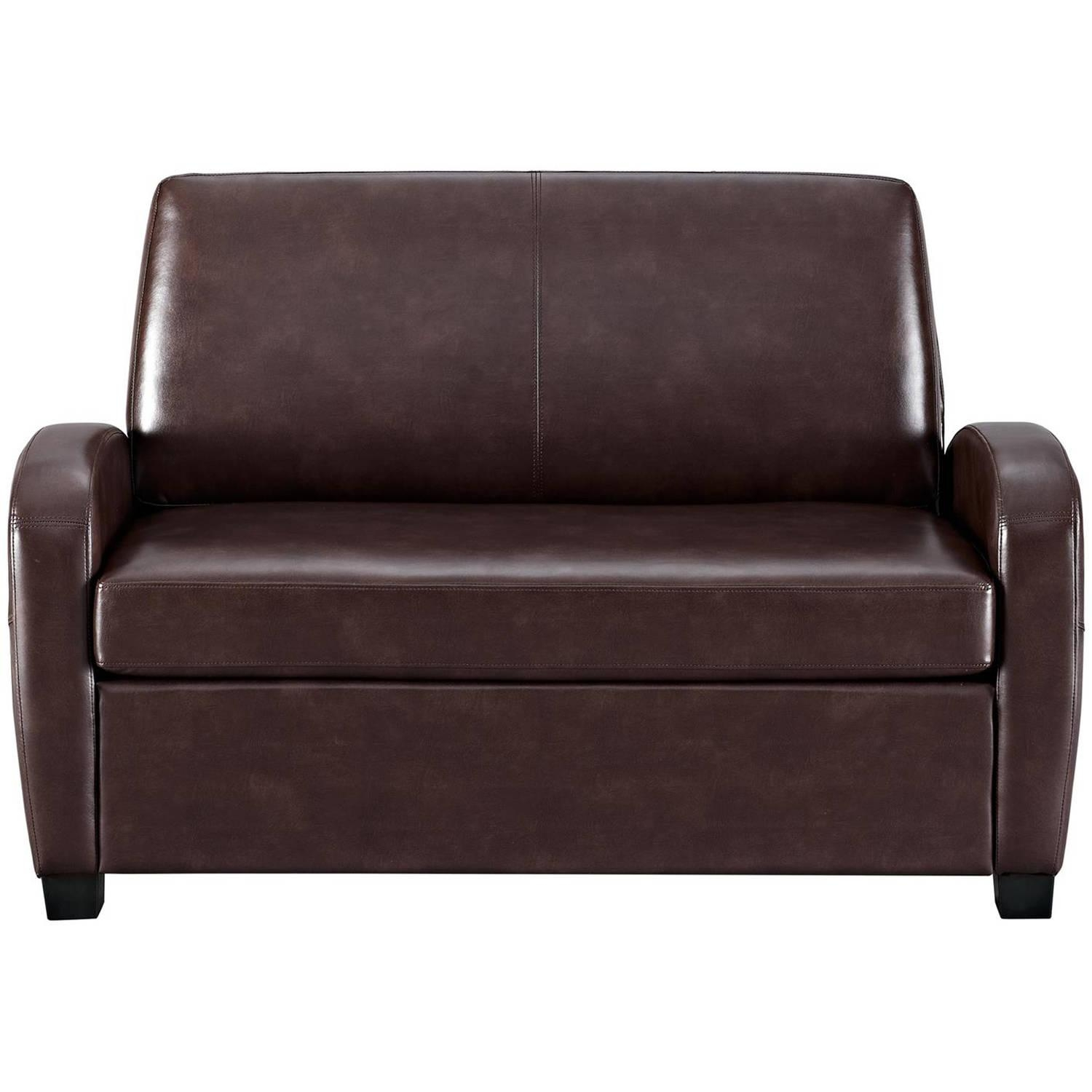 Faux Leather Sleeper Sofa | Design Your Life Throughout Faux Leather Sleeper Sofas (View 8 of 20)