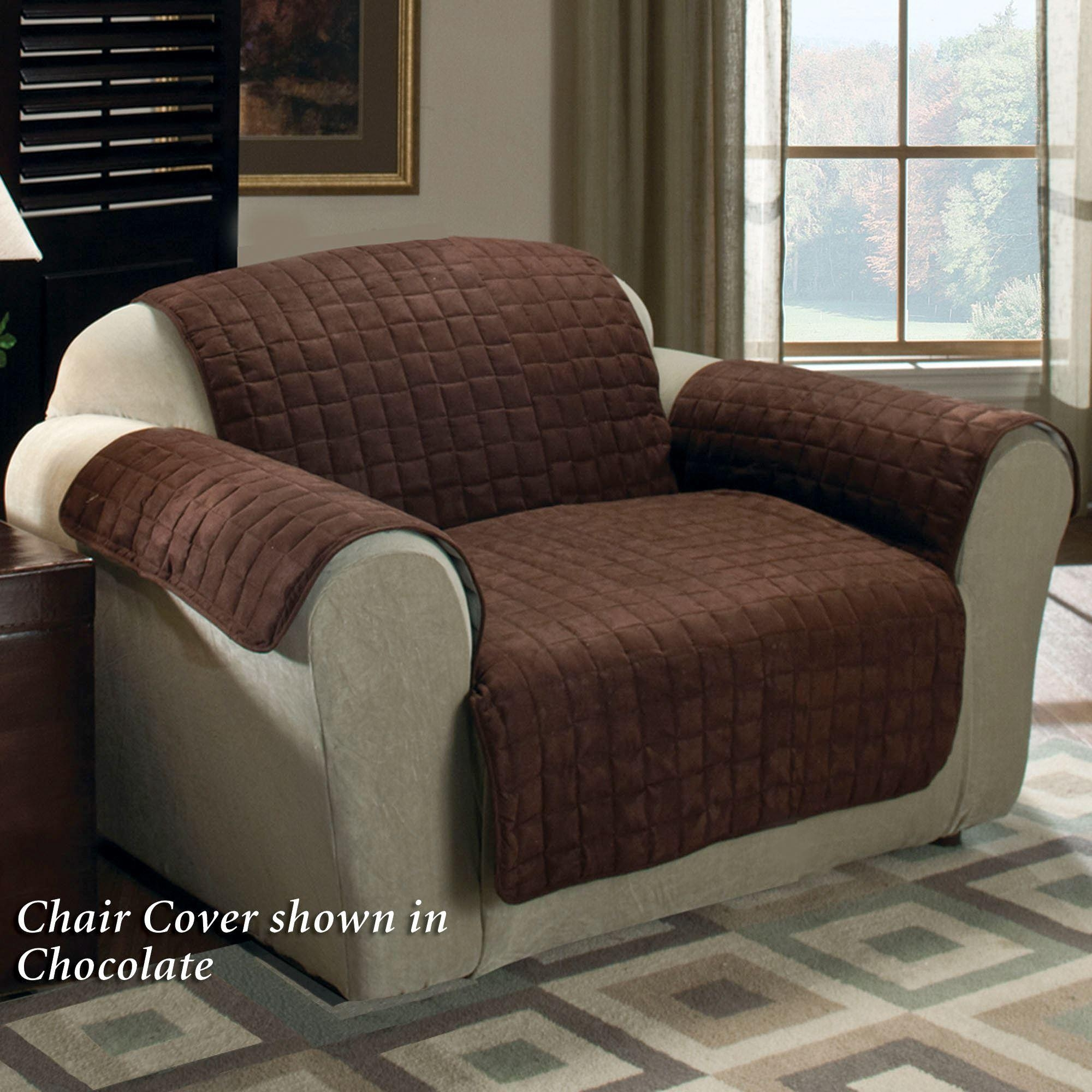 Faux Suede Pet Furniture Covers For Sofas, Loveseats, And Chairs Regarding Sofa And Loveseat Covers (View 13 of 20)