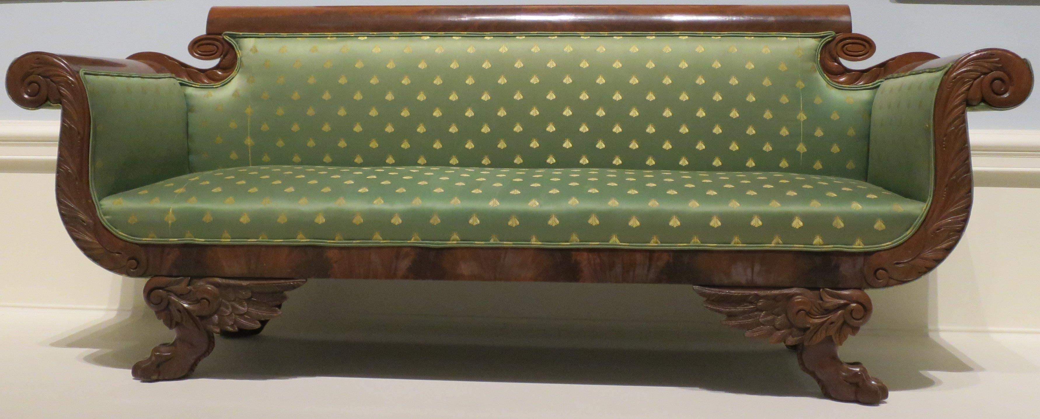 Exceptionnel File:american Empire Style Sofa, C (Image 16 Of 20)
