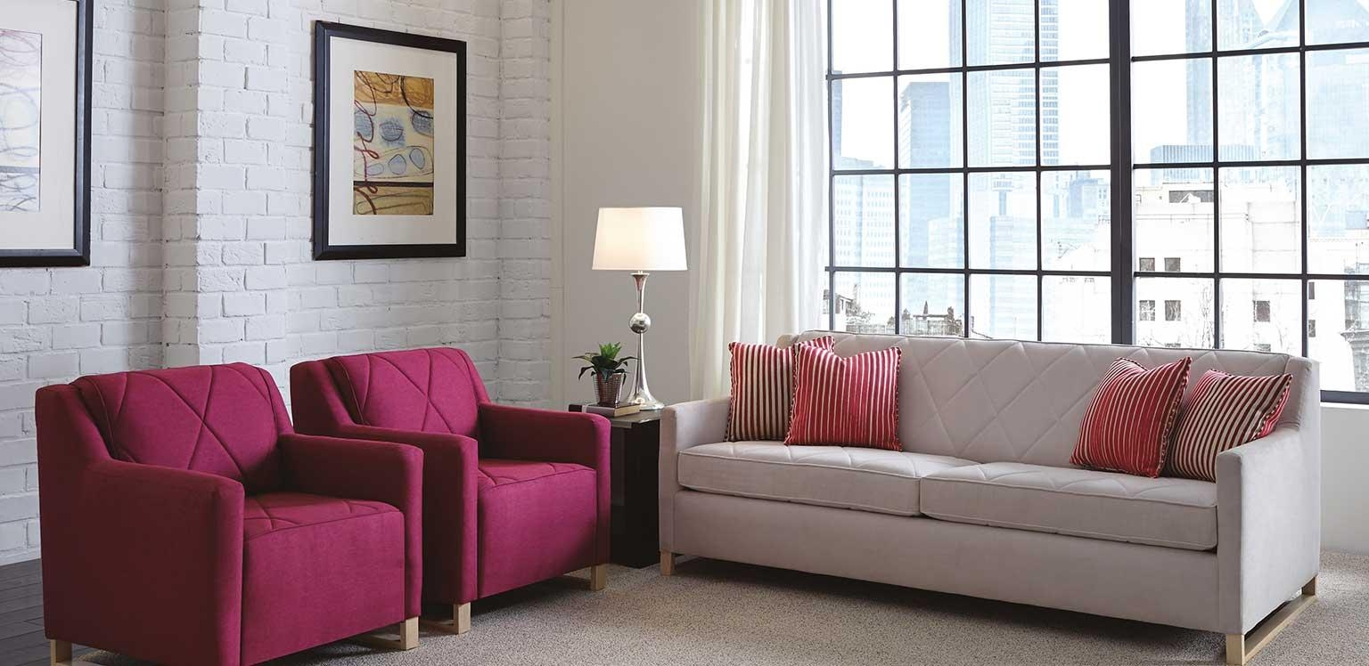 Flexsteel Contract Furniture | Commercial Furniture For Contract With Regard To Commercial Sofas (Image 6 of 20)
