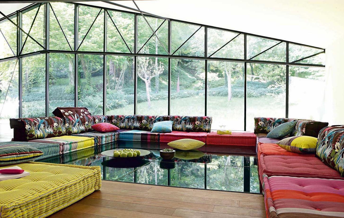 Floor Couch Cushions Regarding Floor Cushion Sofas (Image 8 of 20)