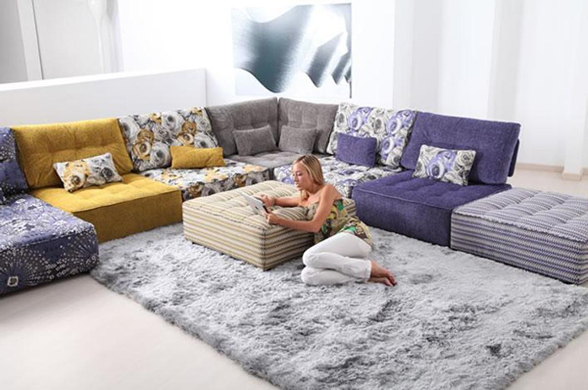 Floor Cushion Sofa With Regard To Floor Cushion Sofas (Image 11 of 20)