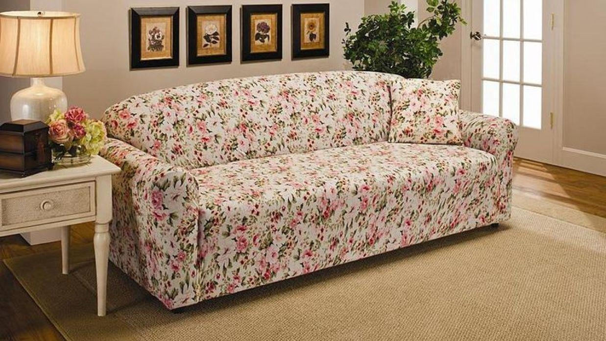 Floral Sofa Covers | Ocucf Chair Cover Regarding Floral Sofas (View 20 of 20)