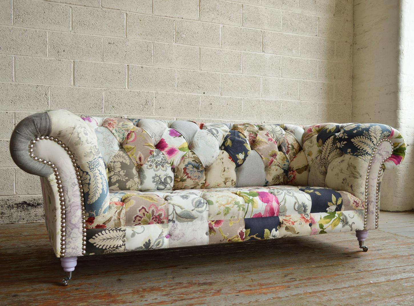 20 s Floral Sofas