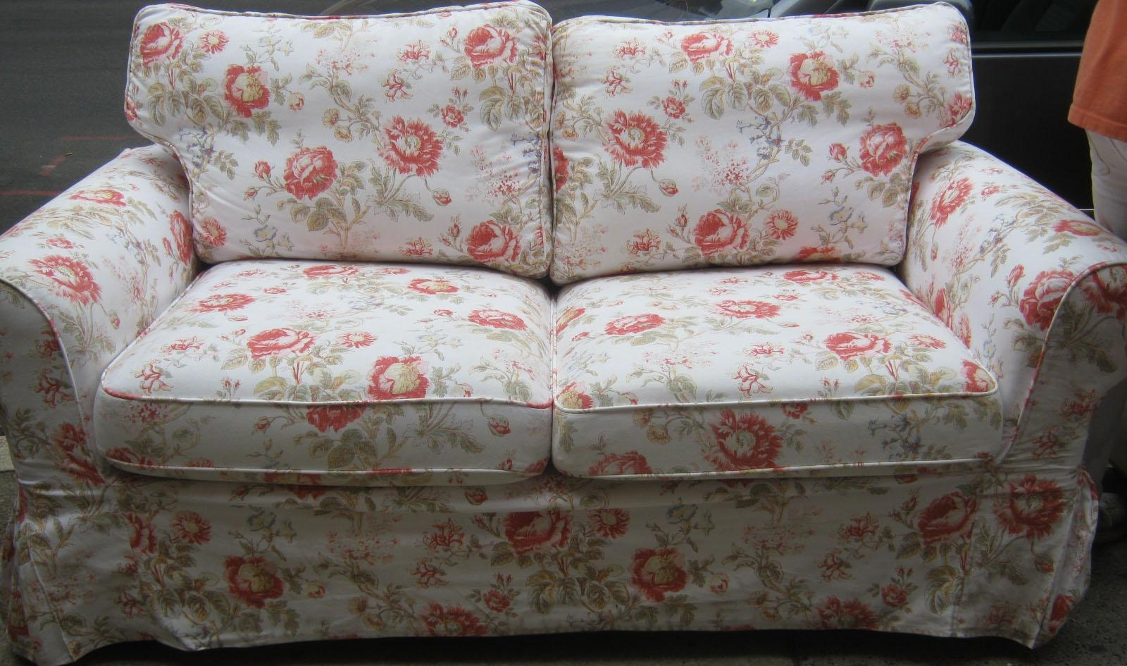 Floral Sofa Slipcovers With Design Hd Images 28817 | Kengire Regarding Floral Sofa Slipcovers (View 3 of 20)