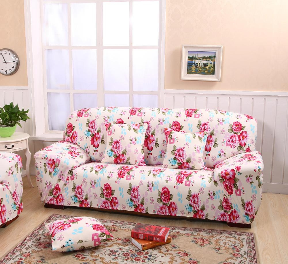 Floral Sofa Slipcovers With Design Hd Images 28817 | Kengire With Floral Slipcovers (View 12 of 20)
