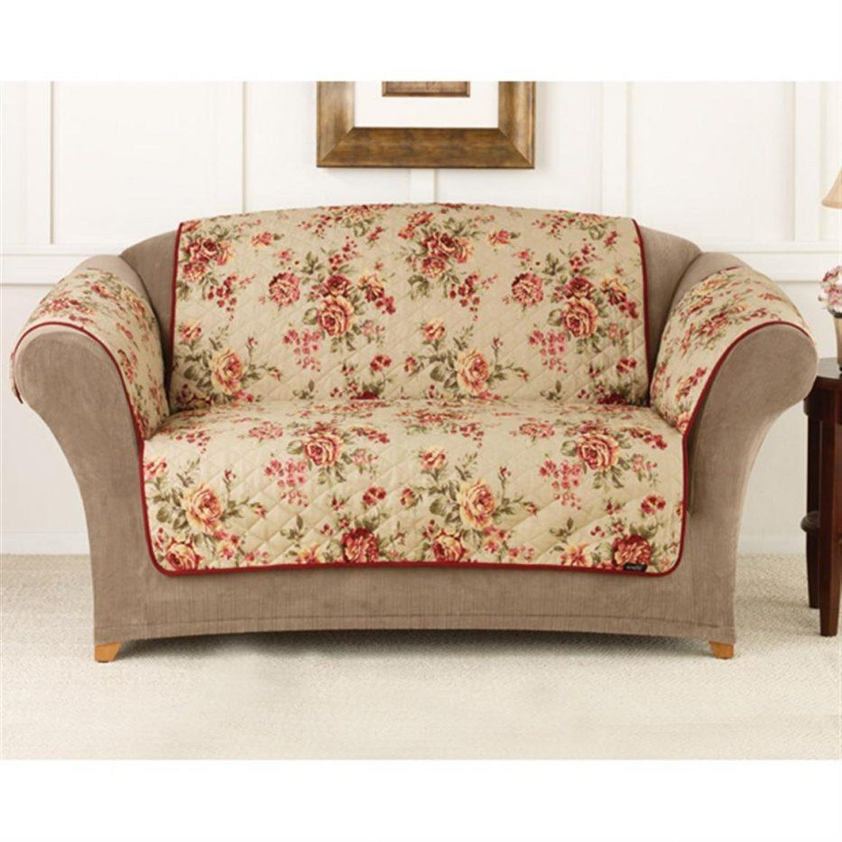Floral Sofa Slipcovers With Inspiration Design 28802 | Kengire In Floral Slipcovers (View 5 of 20)