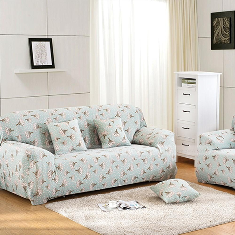 Floral Sofa Slipcovers With Inspiration Image 28803 | Kengire Within Floral Sofa Slipcovers (View 10 of 20)