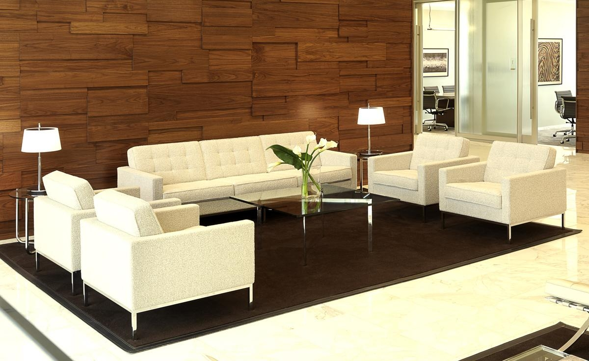 Florence Knoll 3 Seat Sofa – Hivemodern In Florence Knoll Sofas (Image 6 of 20)
