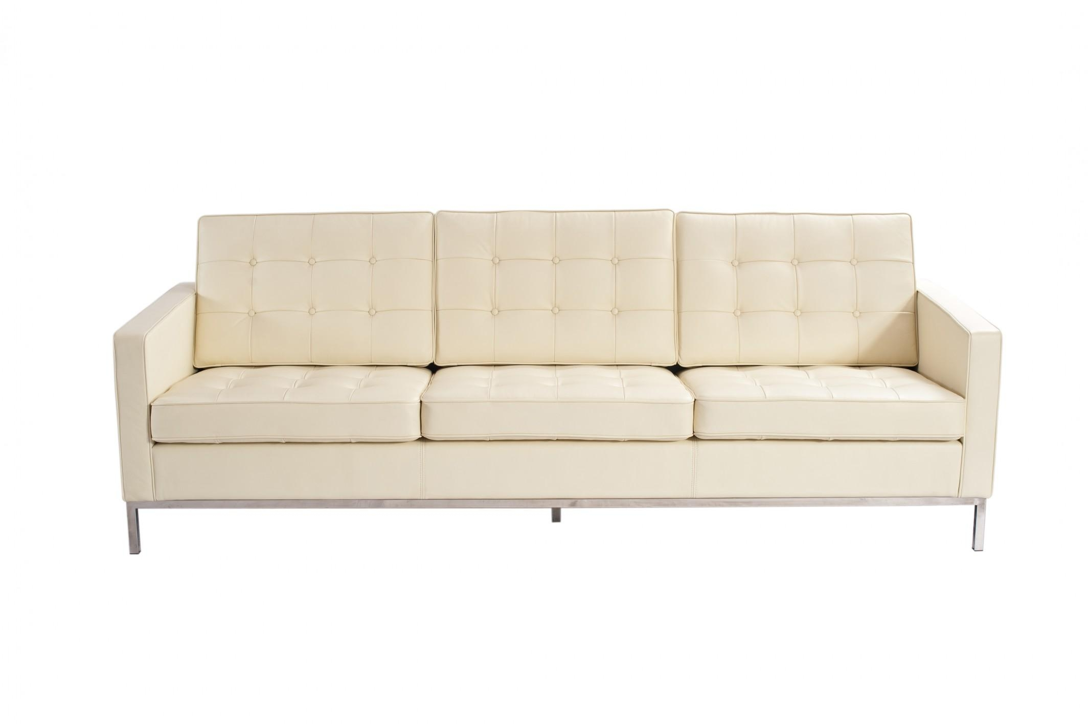 Florence Knoll 3 Seater Sofa | Crepeloversca With Florence Knoll 3 Seater Sofas (View 4 of 20)