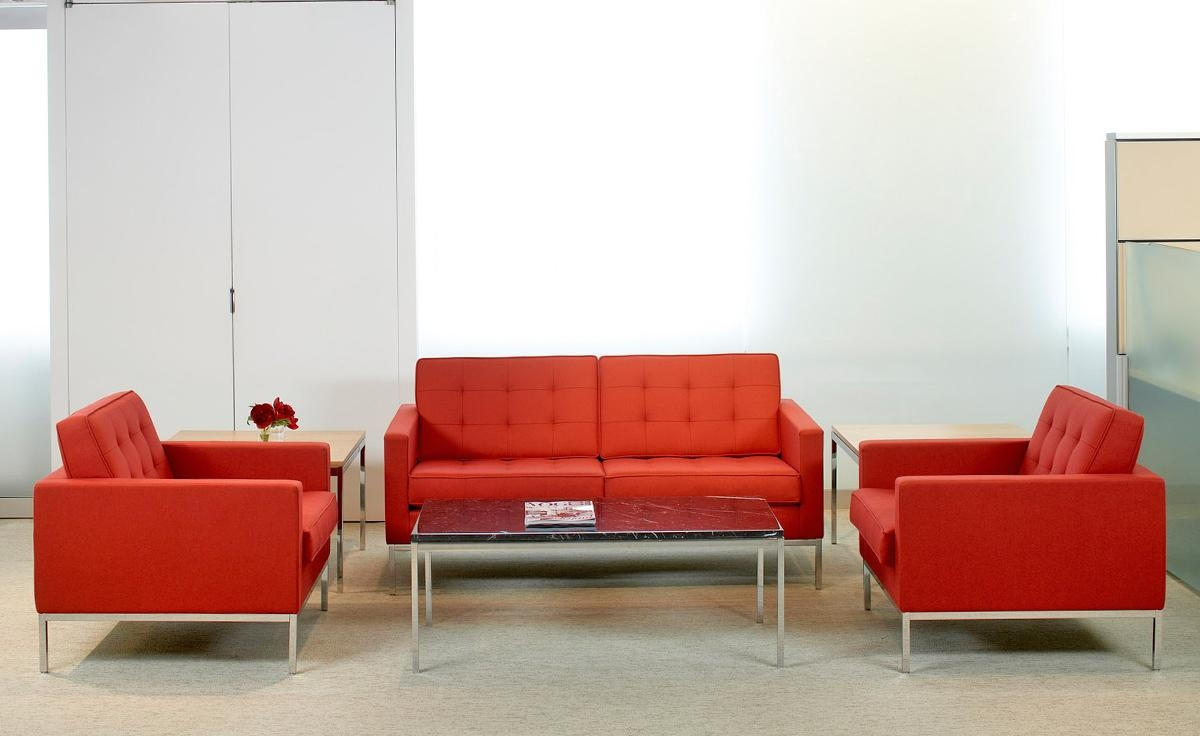 Florence Knoll Lounge Chair – Hivemodern In Florence Knoll Living Room Sofas (View 16 of 20)