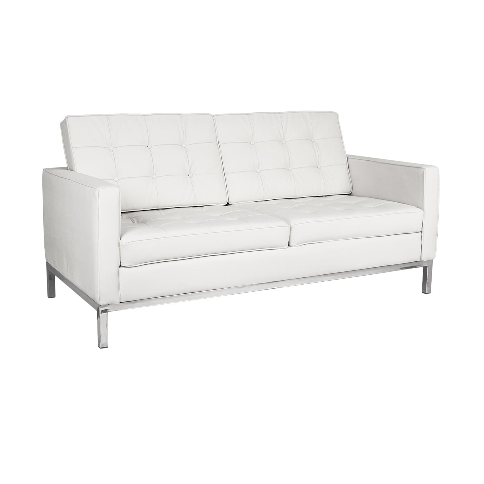 Florence Knoll Loveseat Rentals | Event Furniture Rental With Florence Sofas And Loveseats (View 8 of 20)