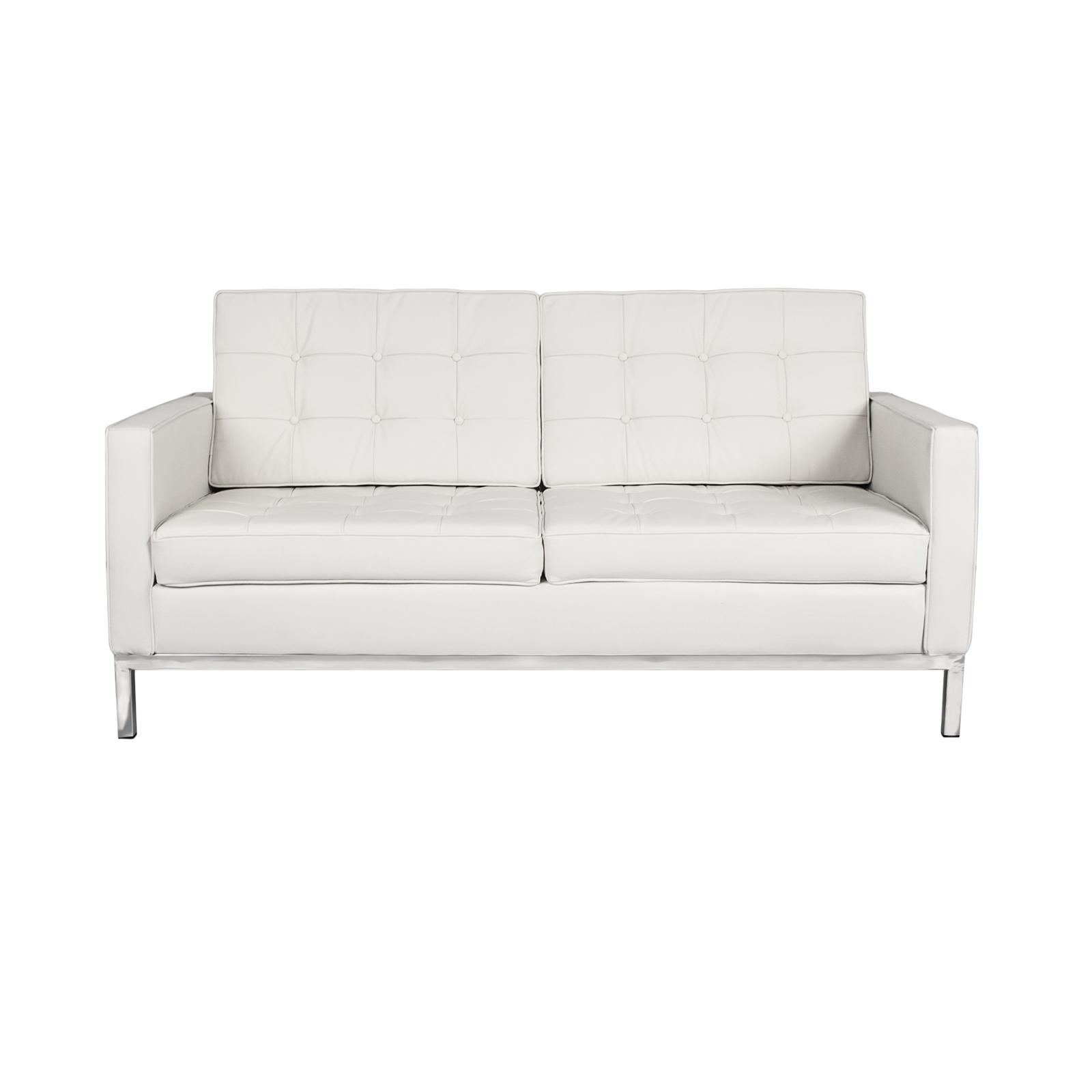 Florence Knoll Loveseat Rentals | Event Furniture Rental With Regard To Florence Sofas And Loveseats (View 14 of 20)